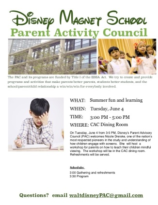 June 4 Meeting